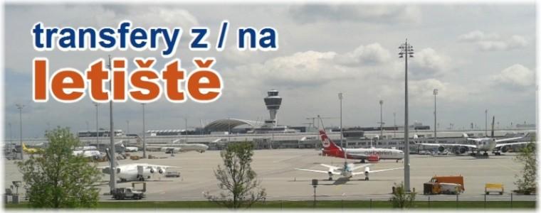 transfery z / na mezinárodní letiště